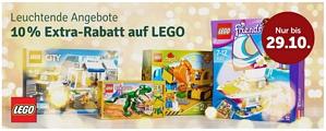 myToys: 10 Prozent Extra-Rabatt auf LEGO-Artikel