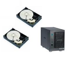 Amazon: Netgear RND2000 + 2x 1TB-Festplatte