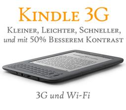 Kindle als 3G und Wi-Fi-Version nun im Preis reduziert