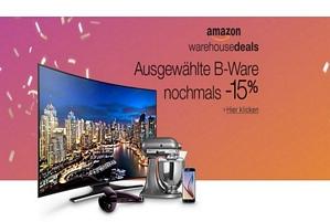 Amazon: Bis zu 20 Prozent Rabatt auf Warehousedeals (bis zum 27.11.2017)