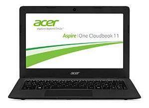 Acer Aspire One Cloudbook 11 11,6 Zoll Notebook (AO1-131-C58K)