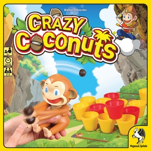 Pegasus Spiele 52153G – Crazy Coconuts Brettspiel