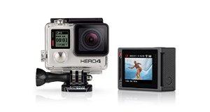 GOPRO Hero4 Silver Adventure Edition + 2x Samsung EVO Plus microSDXC 64GB