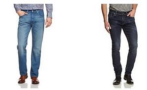 Amazon: Jeans-Sale mit bis zu 65 Prozent Rabatt