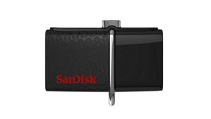 SanDisk 128GB Ultra Dual Drive USB-Stick schwarz (SDDD2-128G-G46) mit USB- und micro-USB-Anschluss