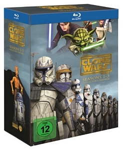 Star Wars: The Clone Wars – Komplettbox Staffel 1-5 [Blu-ray]