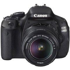 Canon EOS 600D SLR-Digitalkamera Kit inkl. EF-S 18-55mm