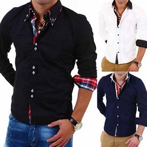 Carisma/Behype Hemd Slim Fit Langarm 6 Modelle verschiedene Farben