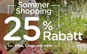 Crocs Onlineshop – 25 Prozent auf die aktuelle Sommerkollektion