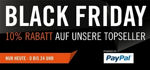 Cyberport: Black Friday 10 Prozent Rabatt auf Highlights bei Zahlung per PayPal