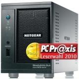 Netgear ReadyNAS DUO RND2000 für 104,89 Euro oder mit 2x 2TB-Festplatten für 303,99 Euro