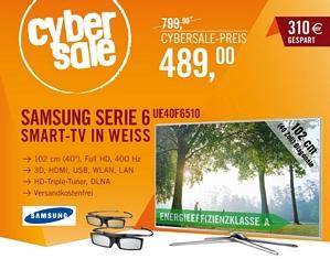 Samsung UE40F6510 40 Zoll 3D-TV mit Sprachsteuerung