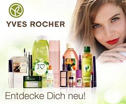 DailyDeal: Yves Rocher 50% Rabatt-Gutschein für 8,50 Euro