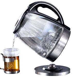 DE SINA Wasserkocher Kocher 1,7 Liter 2200 Watt