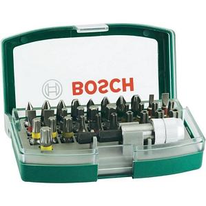Bosch Promoline 32-tlg. Schrauberbit-Set für Bohrmaschine Akkuschrauber