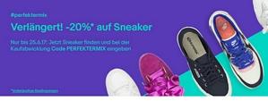 Ebay: 20 Prozent Rabatt auf Sneaker