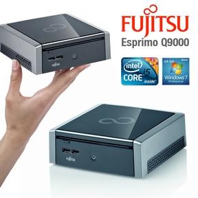Fujitsu ESPRIMO Q9000 Mini-Desktop-PC mit Intel Core i5-PCU und 4GB Ram