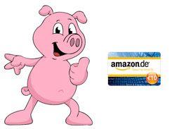 Gewinnspiel für Blogger und Webseitenbetreiber – jeder Teilnehmer gewinnt einen 10 Euro Amazon-Gutschein und hat zusätzlich die Chance auf einen 50 Euro Amazon-Gutschein