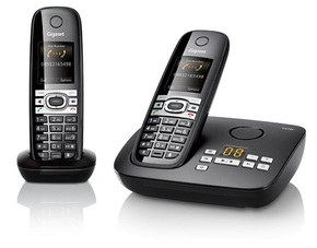 Siemens Gigaset C610A Schnurlostelefon mit Anrufbeantworter