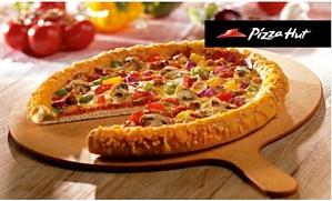 Groupon: 2-für-1 Pizza-Angebot auf alle Teigsorten und Beläge bei Pizza Hut für 1 Euro