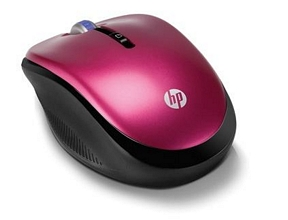 HP 2,4 GHz Optische Mobile Wireless-Maus (Pink)