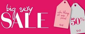 Hunkemöller: big sexy Sale – bis zu 70 Prozent Rabatt