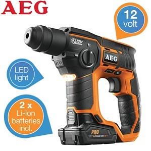 AEG BBH-12 SDS-Plus Akku Bohrhammer