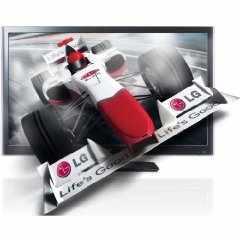 LG 32LW4500 32 Zoll 3D LCD-TV + LG BD670 3D Bluray-Player