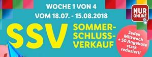 LIDL: Sommerschlussverkauf + 5 Euro Gutschein + versandkostenfreie Lieferung ab 50 Euro Bestellwert