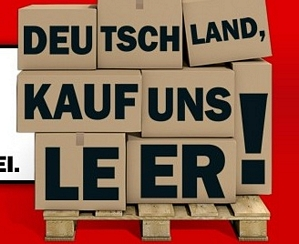 Media Markt – Deutschland kauf uns leer – Restpostenaktion vom 20.09.2014