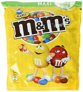 M&M's Peanut 4 Beutel (4 x 500 g)