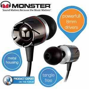 Monster Turbine In-Ear-Speaker