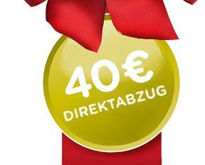 40 Euro Direktrabatt  beim Kauf einer Nescafé Dolce Gusto Maschine