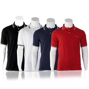 Pierre Cardin Herren Polo Shirt kurzarm (Doppelpack)