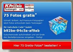 Pixum: Fotoaktion mit 75 Abzügen im Format 10×15 cm für 1,99 Euro inkl. Versand