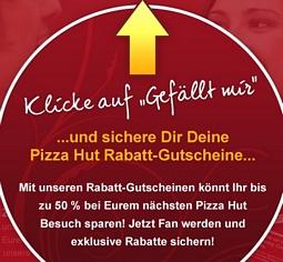 PIZZA HUT GUTSCHEINE AUSDRUCKEN