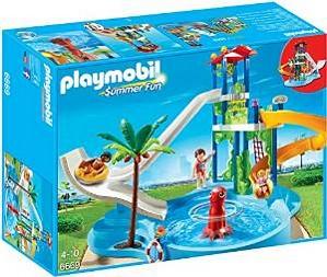 Playmobil 6669 – Aquapark mit Rutschentower