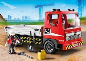 Playmobil 5283 – Baustellen-LKW