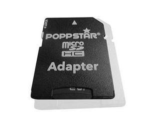 Poppstar 64GB micro SDXC Speicherkarte Class10 inkl. SD Adapter