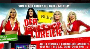 Redcoon: Von Black Friday bis Cyber Monday – alle 3 Stunden günstige Angebote