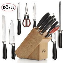 Rösle Messerblock mit 7 Messern