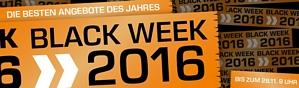 Saturn Black Week Angebote 2016 – jede Menge Schnäppchen u.a. auch diverse günstige Xbox One Bundles