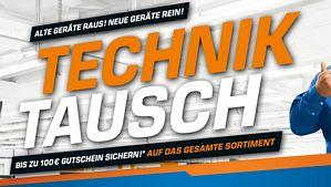 Saturn Technik Tausch: Produkt im Wert von mindestens 499 Euro kaufen und Gutscheinkarte für den nächsten Einkauf erhalten