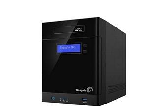Seagate Business Storage STBP200 NAS-System (4-Bay, 2x RJ-45 Gigabit, 2x USB 3.0) Leergehäuse