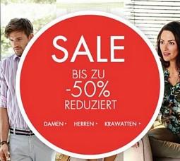 Seidensticker: Sale + 25 Prozent Rabatt zusätzlich auf alle Artikel
