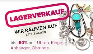 Silvity – Lagerverkauf mit bis zu 80 Prozent auf Uhren, Ringe, Anhänger und Ohrringe