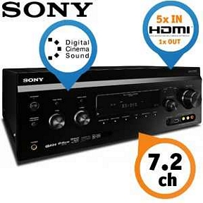 Sony STR-DA3700ES 7.2 AV-Receiver für gehobene Ansprüche