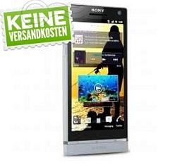 Sony Xperia S Smartphone mit DualCore-CPU und 32GB Speicher
