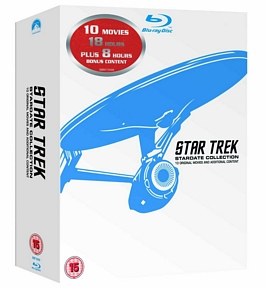 Star Trek: Stardate Collection – The Movies 1-10 (Remastered) [Blu-ray]