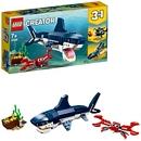 LEGO Creator – Bewohner der Tiefsee mit Hai, Krabbe und Schatztruhe (31088)
